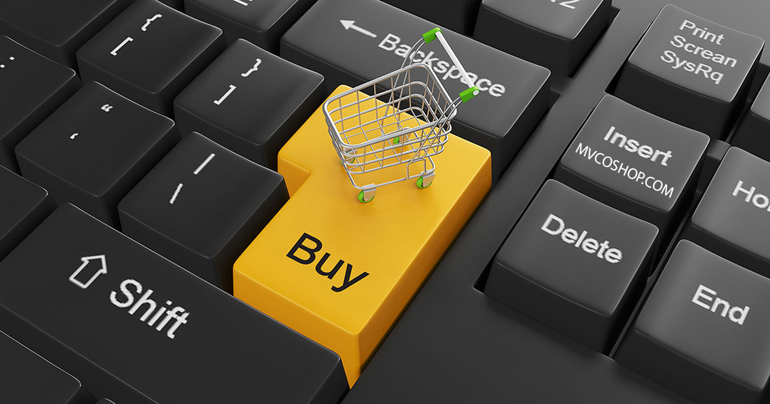 ecoomerce shopping cart and buy button